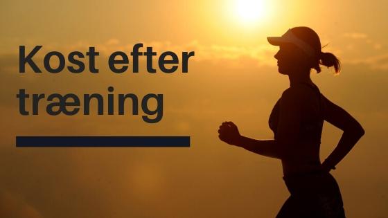 kost efter træning